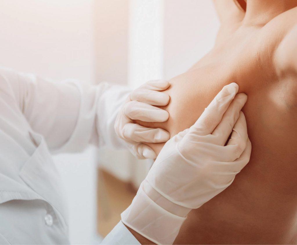 mastologista em itajai exame do toque